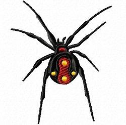 black widow spider set