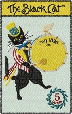 black cat July 1896