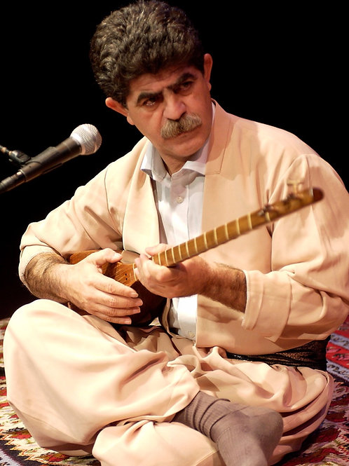 Tanbur Workshop with Ali Akbar Moradi: July 26, 27, 29