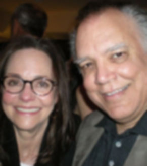 Marcello with Sally Field after Lincoln