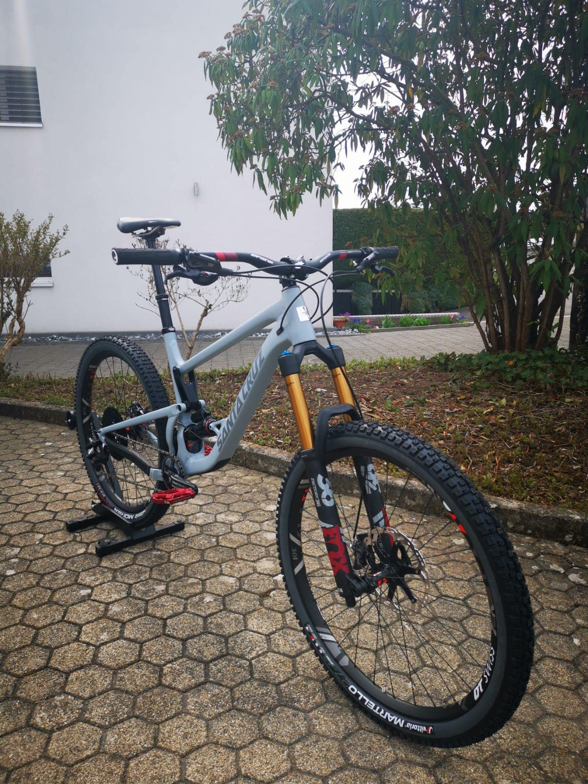Custom Made Santa Cruz Bronson