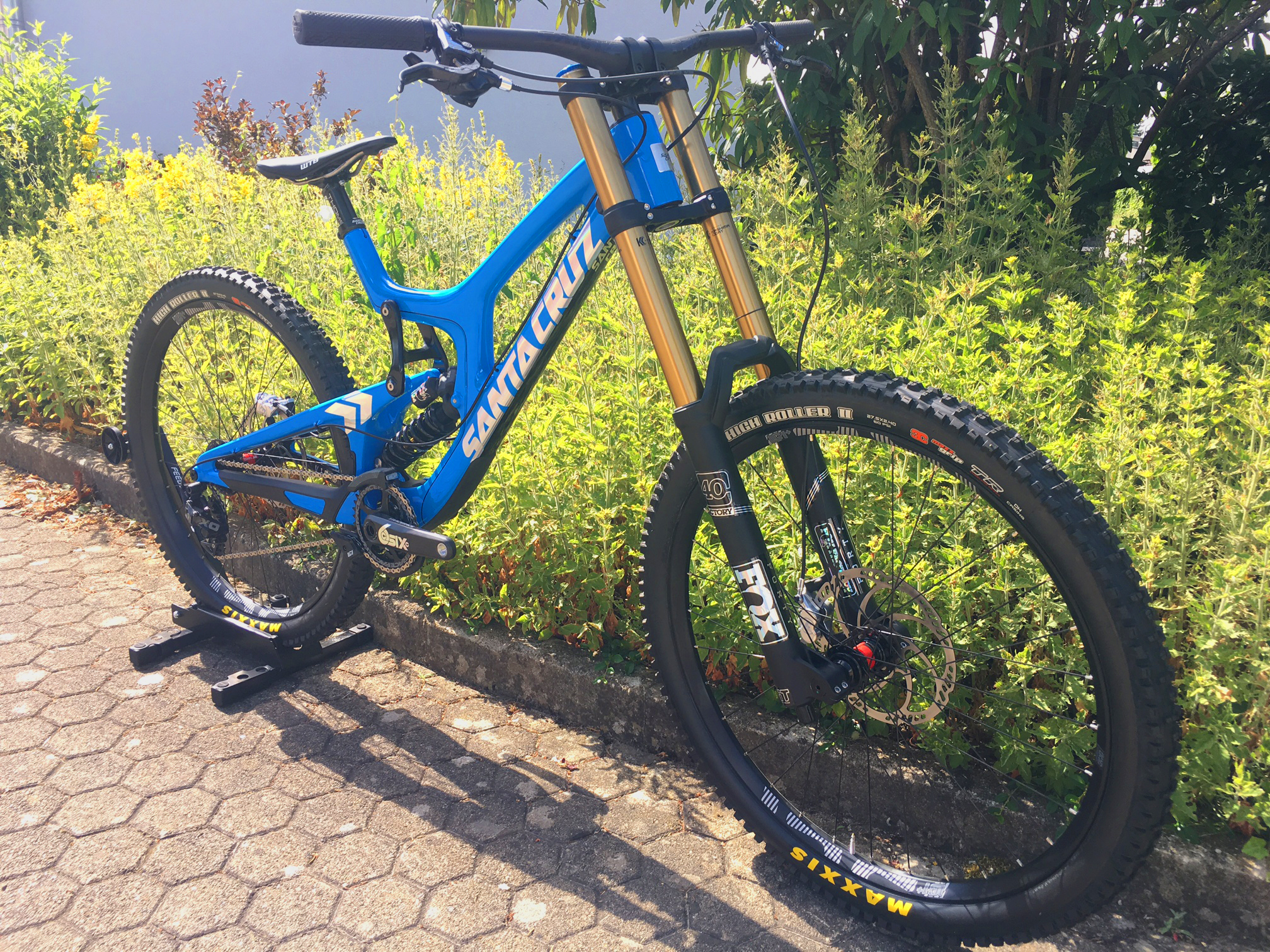 Santa Cruz V10 Customized