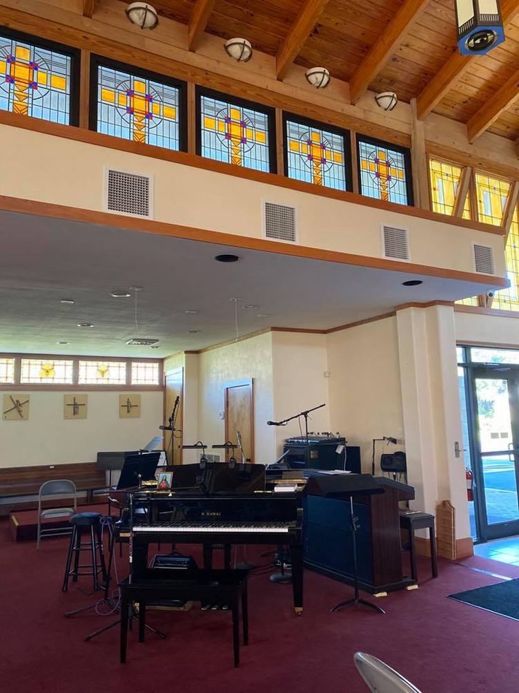Choir Area