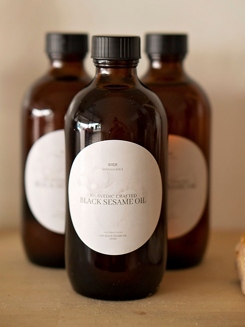Ayurvedic Crafted Black Sesame Oil 200ml