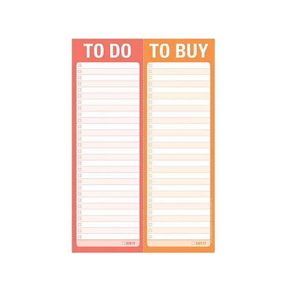 Notepad Do/Buy