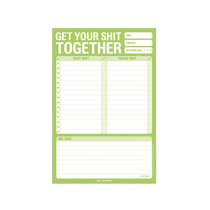 Notepad Get your shit together