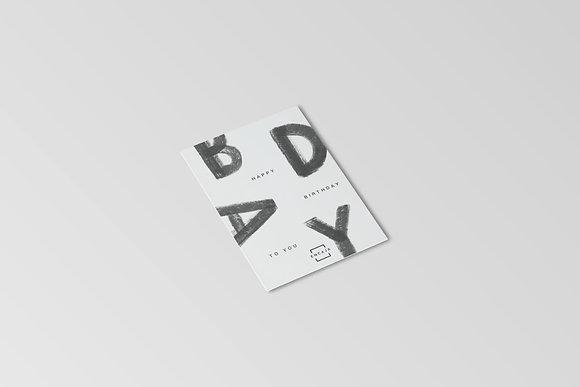 Tarjeta Happy Birthday To You
