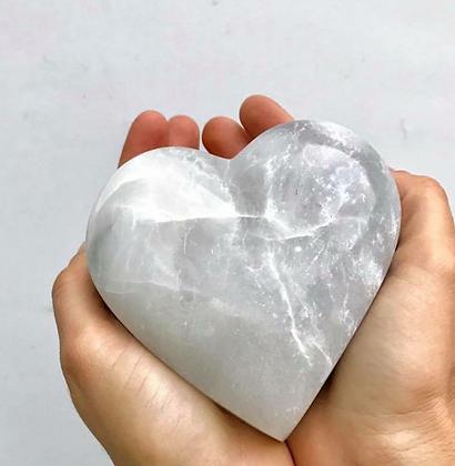 Corazón de alabastro andino