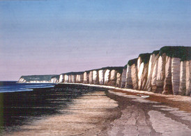 Low Tide at Normandy