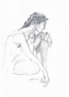 Female Day Dreaming I - 1958