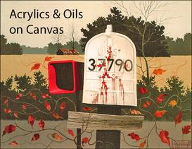 Acrylics & Oils