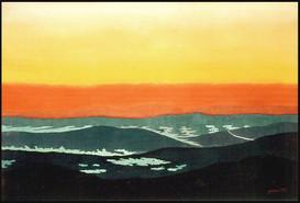 Blue Ridge Evening Views I