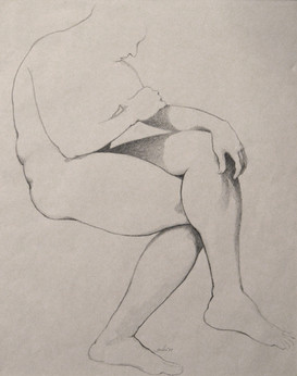 Male with Crossed Legs - 1977