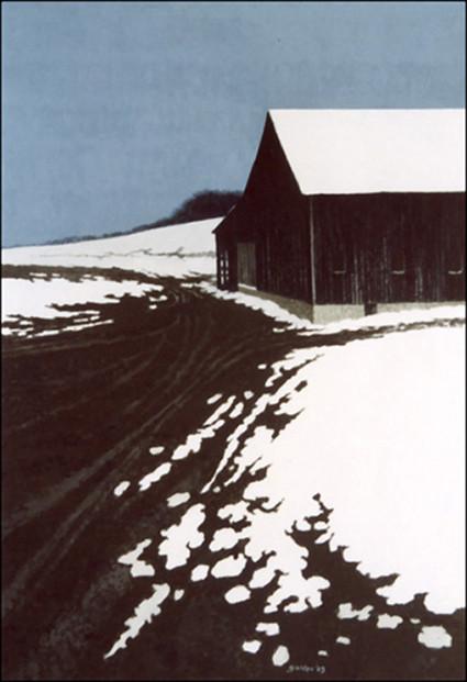 Winter Barn V