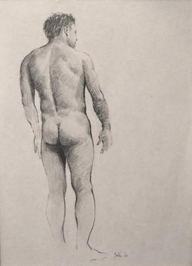 Male Standing - Rear - 1966