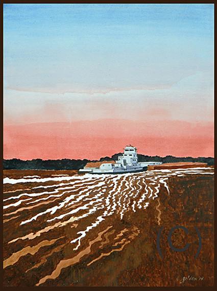 Churning the Mississippi