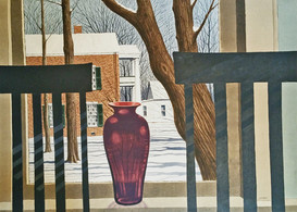 "Lexington View II - Rep'd in Golden's Journeys book & ""Best of Watercolor"", Vol. 3 by Rockport Pub. Co."