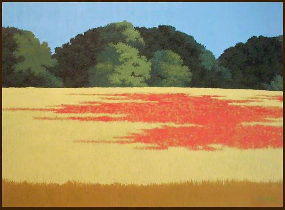 Crimson Clover on the Trace