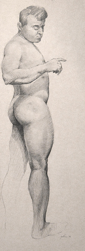 Male Standing - 1966