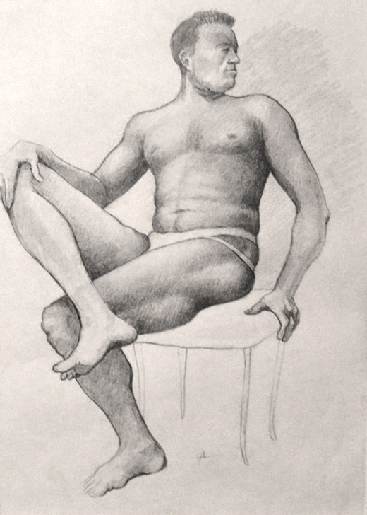 Male Seated - 1966