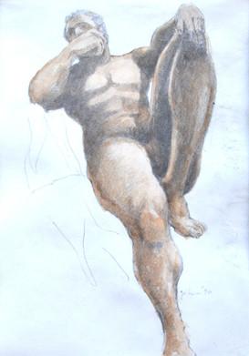 Male in Sepia - 1990