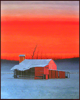 Mid-Winter in Virginia - Solo Exhibition Ogden Museum & Morris Museum
