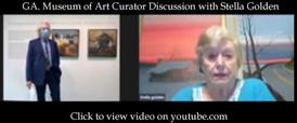 GA. Museum of Art Curator Discussion with Stella Golden & William U. Eiland