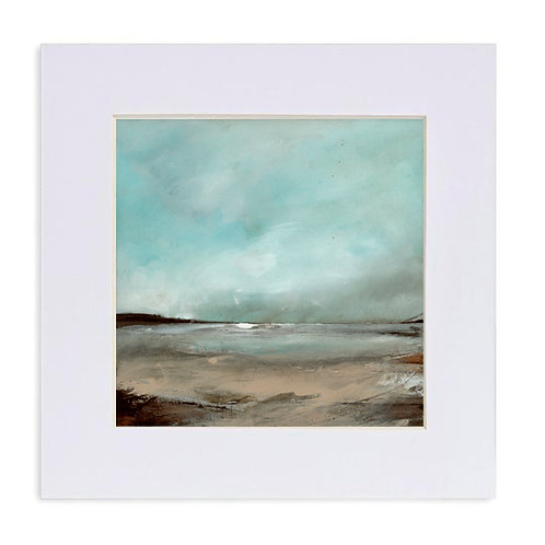 """Giclee Print of """"Snow Clouds, Pembrokeshire"""""""