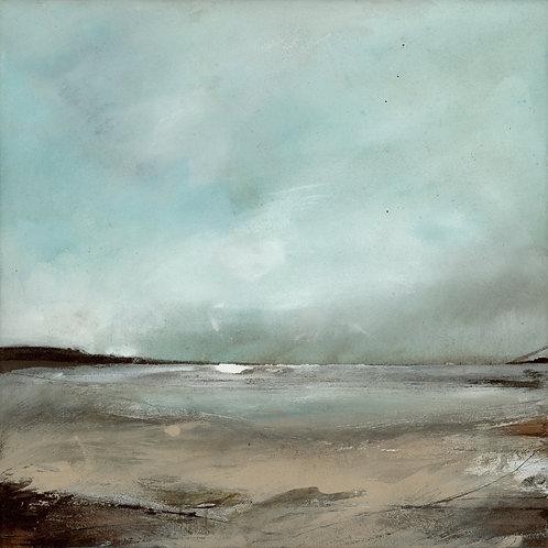 "Canvas Print of ""Snow Clouds, Pembrokeshire"""