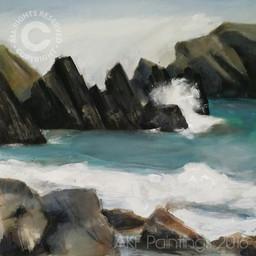 """""""Marloes Rocks"""" (112)"""
