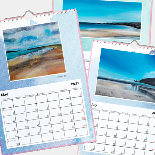 2021 Calendar - Paintings of Pembrokeshire