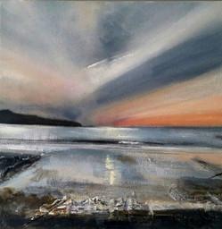 """""""Sunset, Abereiddy"""" (104)"""