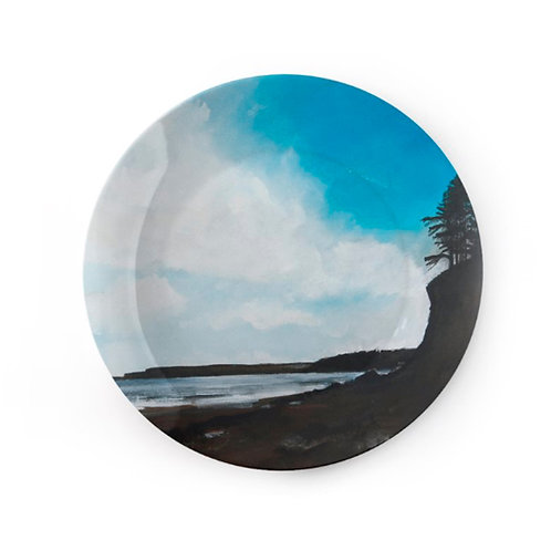 "China Plate - ""Dad's Cliff, Amroth"""