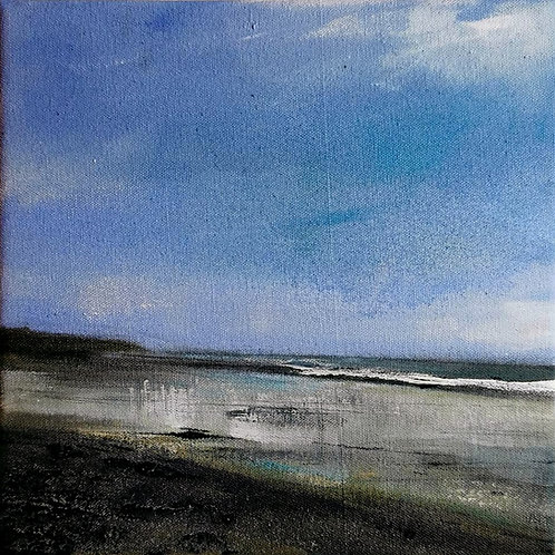 Original painting 'Low Tide, Amroth'
