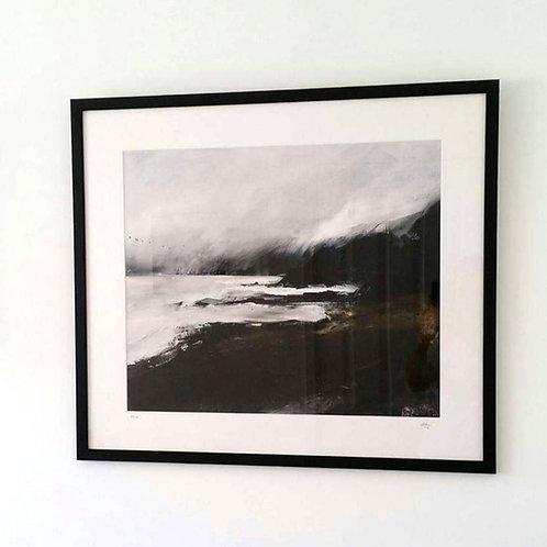"Framed Limited Edition Print of  ""Headland, Wiseman's Bridge"""