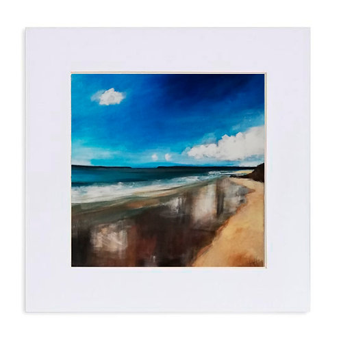 "Giclee Print of ""September Sun, Tenby South"""