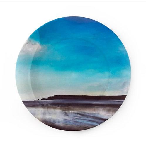 "China Plate - ""Across to Monkstone II"""