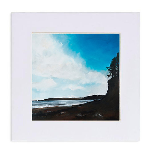"""Giclee Print of """"Dad's Cliff, Amroth"""""""