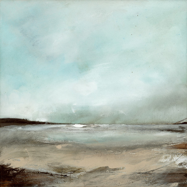 """Snow Clouds, Pembrokeshire"" (105)"