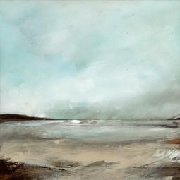 """""""Snow Clouds, Pembrokeshire"""" (105)"""