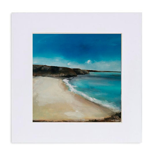 "Giclee Print of ""Barafundle Bay"""