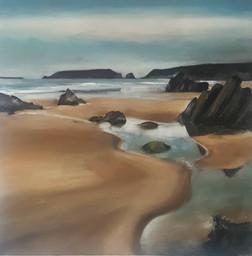 """Our Beach, Marloes"" (203)"