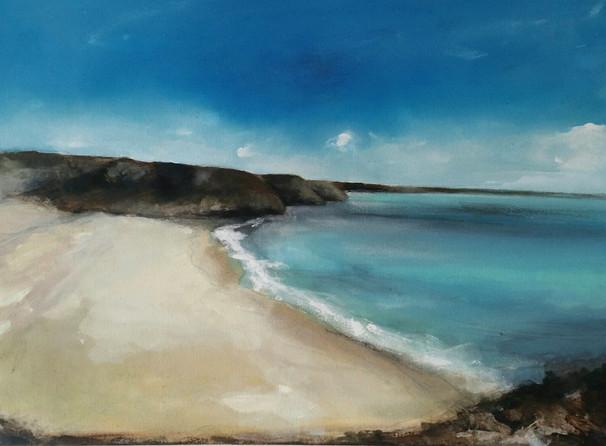 """""""Barafundle Bay"""" (108)"""