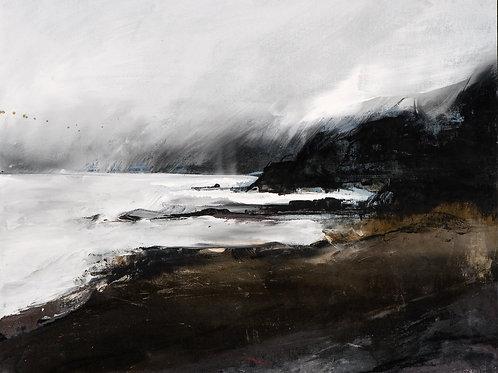 "Canvas Print of ""Headland, Wiseman's Bridge"""