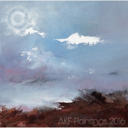 """""""Winter Tide, Pembrokeshire"""" (103)"""