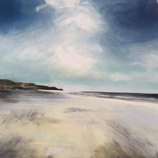 """Summer Breeze, Newgale"" (201)"