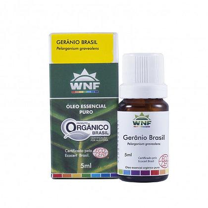 Óleo Essencial Gerânio Brasil WNF - 05ml