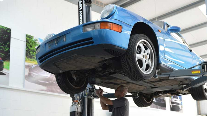 Porsche Servicing at it's finest