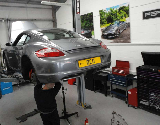 Cayman S Exhaust Upgrade