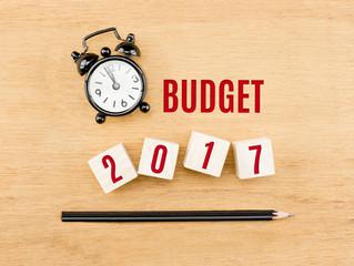 Prévisions budgétaires et tarifications 2017